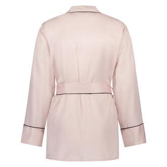 Pyjama jasje Satin, Roze