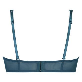 Voorgevormde strapless beugel bh Maya, Blauw