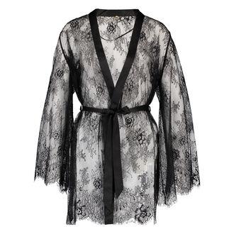 Kimono Lace Doutzen, Zwart