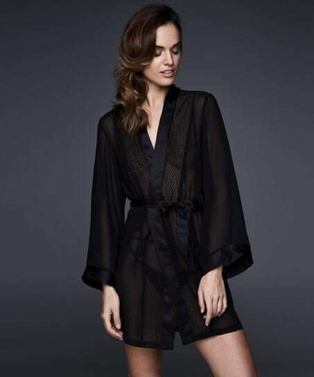 Kimono Lace, Zwart