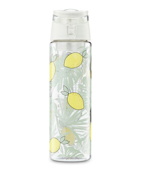 Patched infused water bottle, Groen