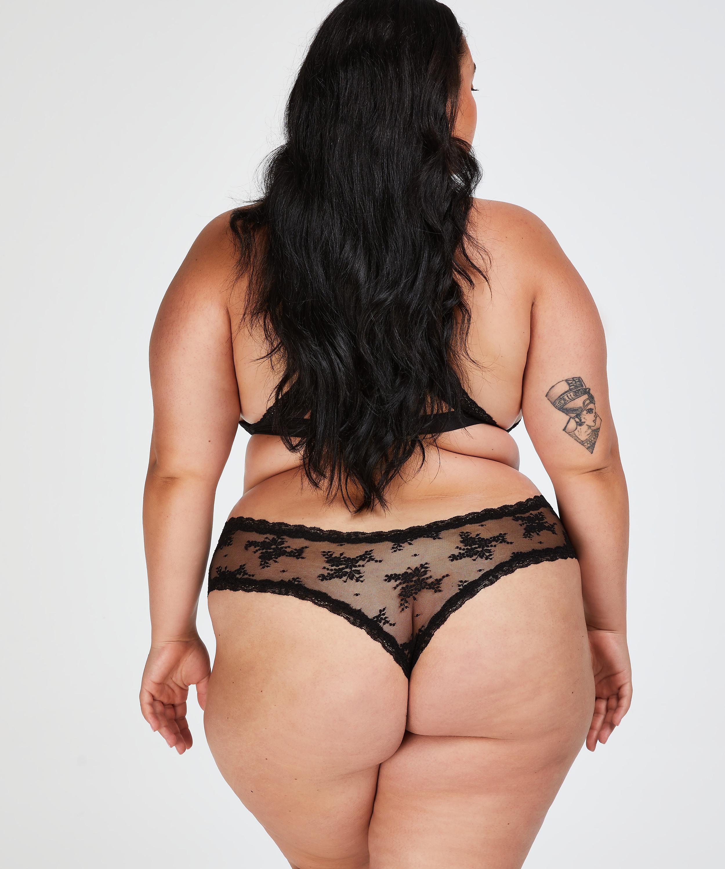 Brazilian V-shape Mesh, Zwart, main