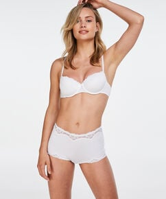 Boxer Secret lace, Wit