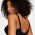 Niet-voorgevormde beugel bh Diva, Zwart