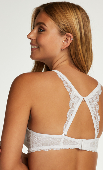 Lace back detail, Wit