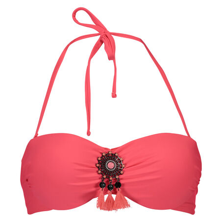 Push-up bikinitop Arabian nights, Roze