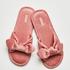 Velours Knot Slipper, Roze