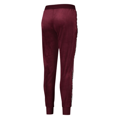 Joggingbroek Velours, Rood
