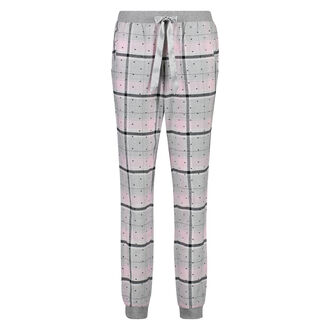 Pyjamabroek Check, Roze