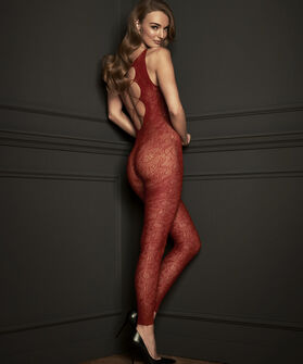 Panty Private Catsuit, Rood