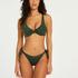 Niet-voorgevormde beugel bikinitop Tonal, Groen