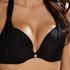 Voorgevormde push-up bikinitop Sunset Dream Cup A - E, Zwart