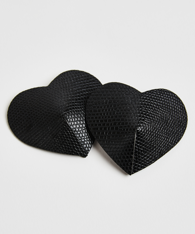 Nipple covers Private Snake, Zwart, main