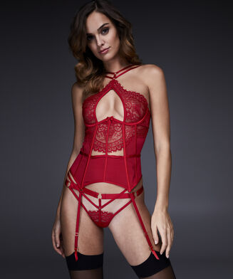 Bustier Angel, Rood