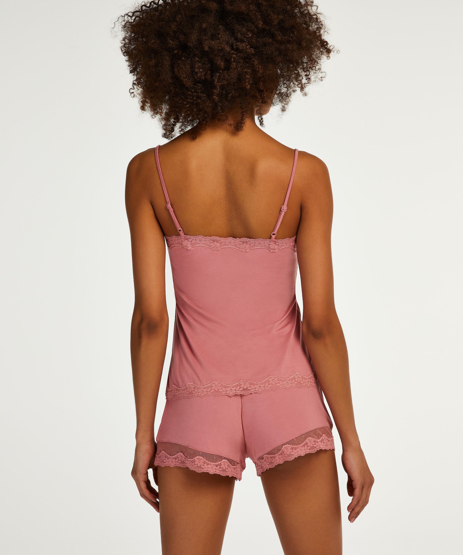 Korte pyjama set, Roze, main