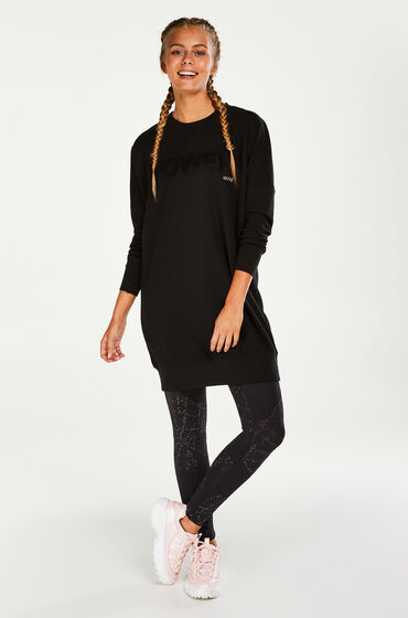 Hunkemöller HKMX Sweater Dress Zwart