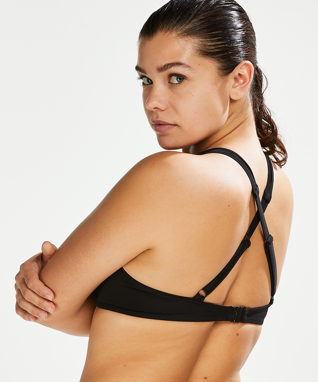Voorgevormde beugel bikini top Sunset Dreams Cup E +, Zwart, main