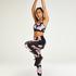 HKMX regular waist sport legging level 2, Zwart