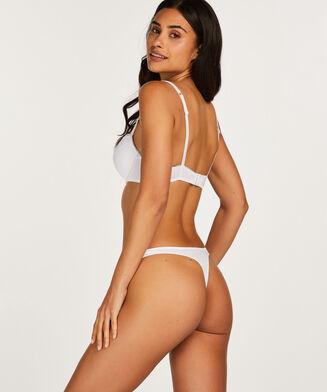 Voorgevormde beugel bh Secret lace, Wit
