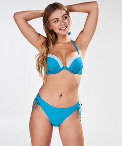 Voorgevormde push-up beugel bikinitop Laguna, Blauw