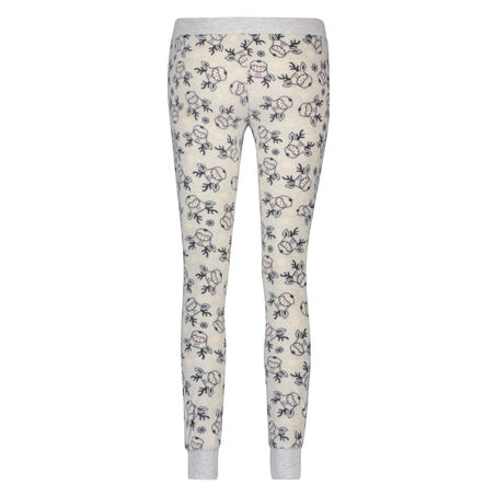 Fleece legging, Grijs