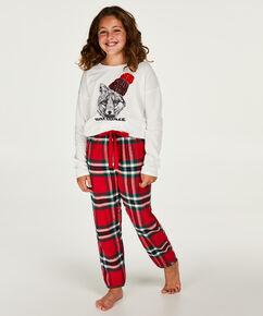 Pyjamaset tienermeisje, Rood