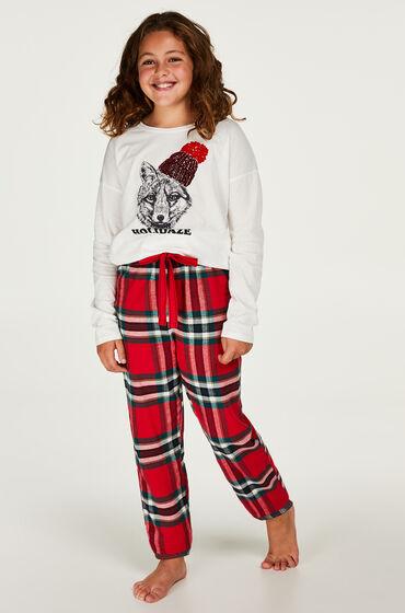 Hunkemöller Pyjamaset tienermeisje Rood