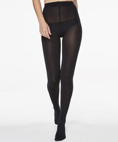 Panty 60 Denier Opaque, Zwart