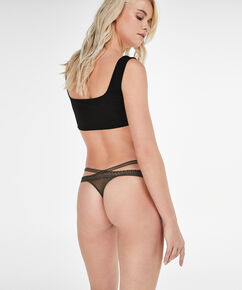 String Strappy Low, Groen
