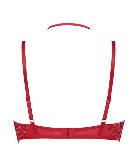 Voorgevormde longline beugel bh Coco, Rood