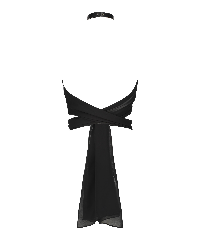 Private wrap top, Zwart, main