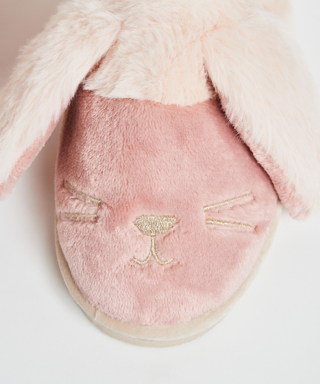 Pantoffels Cute Bunny, Roze, main