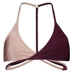 Triangle bikinitop Times Two, Roze