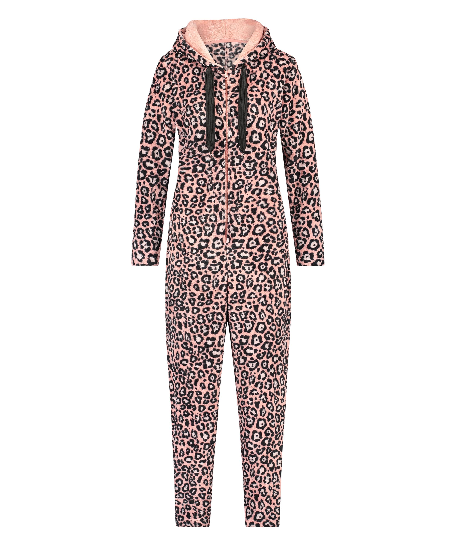 Onesie Leopard, Roze, main