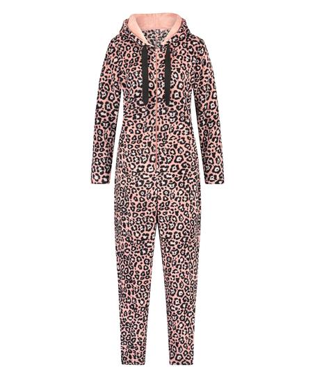 Onesie Leopard, Roze