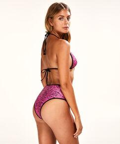 Hoog cheeky bikinibroekje Haze, Roze