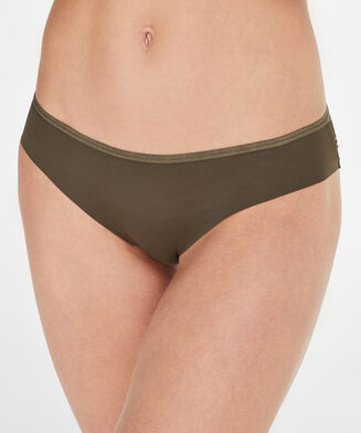 Invisible Brazilian Lace Back, Groen