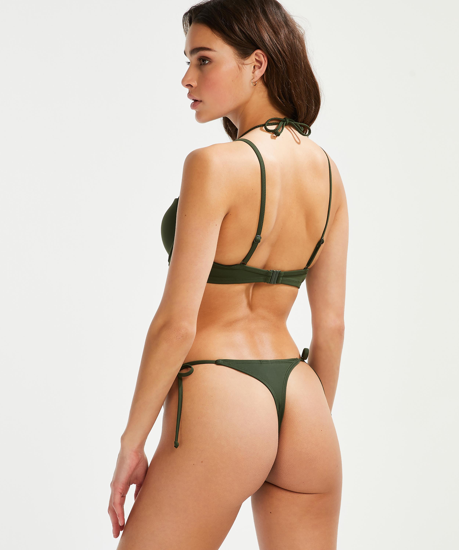 Voorgevormde beugel bikinitop Luxe, Groen, main