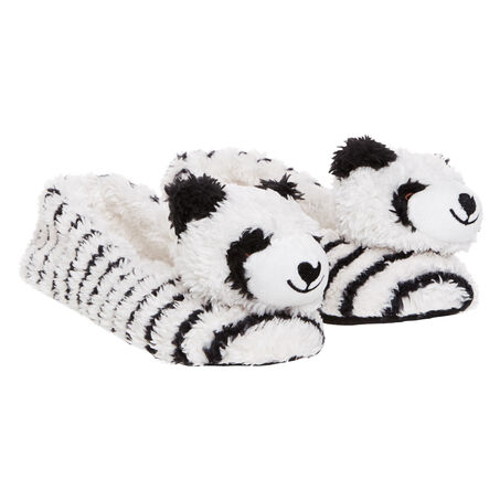 Ballerina slippers Animal Panda, Wit