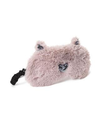 Slaapmasker Furry Cat, Roze