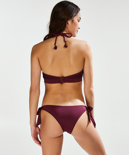 Laag Brazilian bikinibroekje Borneo Mesh, Paars