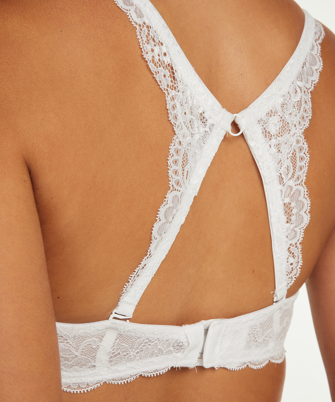 Lace back detail, Wit, main