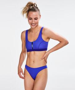 HKMX Laag cheeky bikinibroekje, Blauw