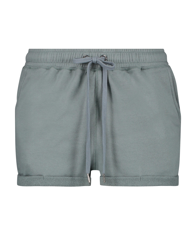 Shorts Sweat French, Groen, main