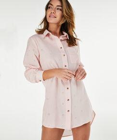Image of Hunkemöller Nachthemd Menshirt Jersey Roze