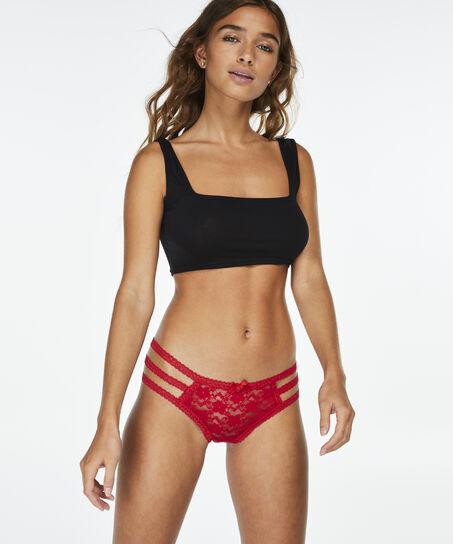 Brazilian Strappy Nicole, Rood