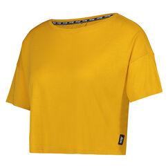 HKMX Sport Shirt Open Rug, Geel