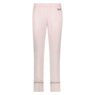 Pyjamabroek Satin Bow, Roze