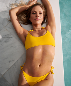 Bikini croptop Napa, Geel