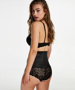 Brief Scuba lace, Zwart
